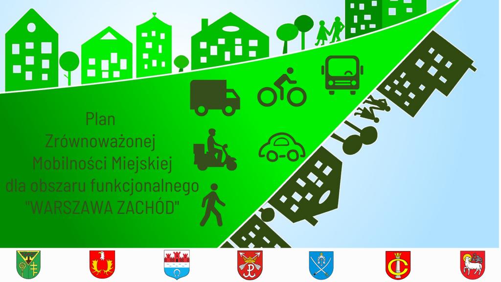 Grafika pogladowa Plan Zrównoważonej Mobilności Miejskiej